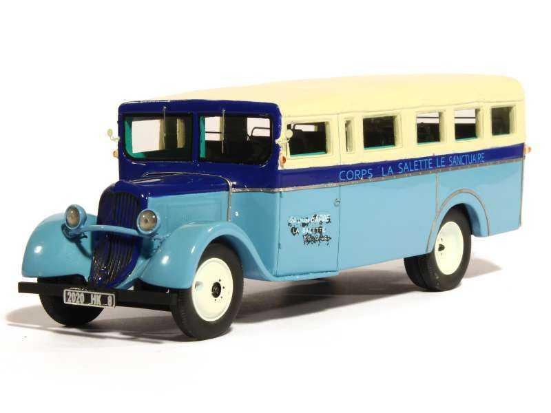 81037 Citroën U23 Bus Torpédo 1946