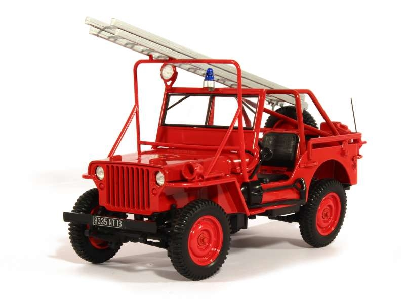 81060 Willys Jeep Pompiers 1988