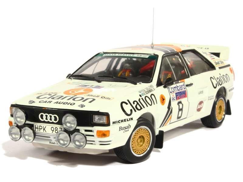 82060 Audi Quattro A2 RAC Rally 1985