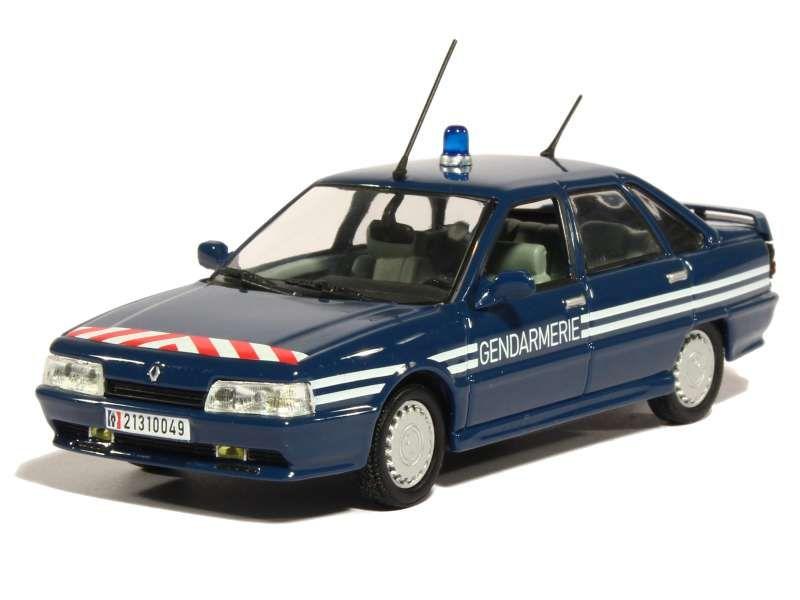 82600 Renault R21 2.0L Turbo Gendarmerie 1989
