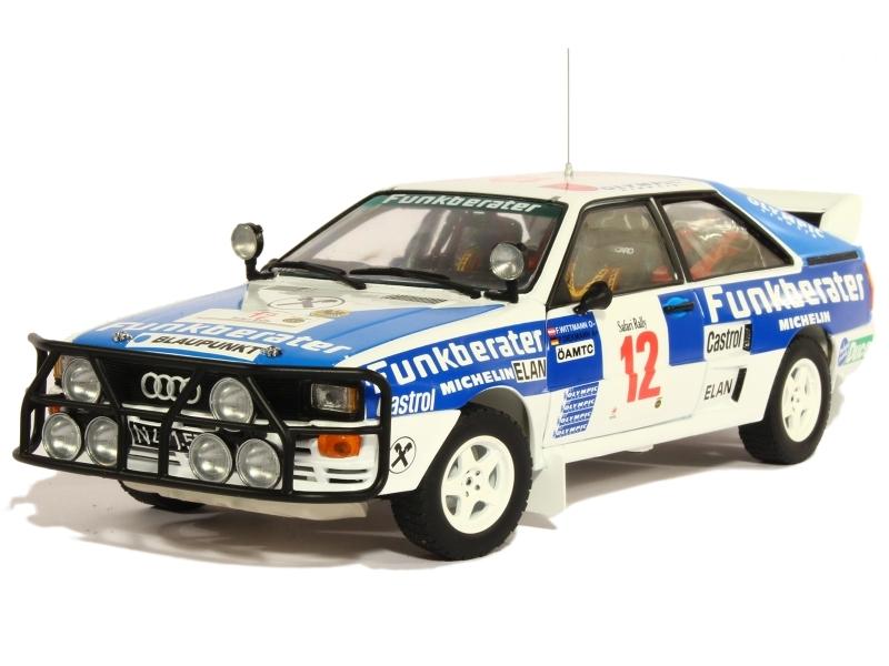 83192 Audi Quattro A2 Safari Rally 1984