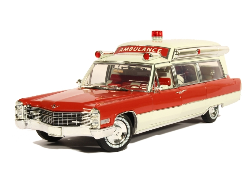 84171 Cadillac S&S 48 High Top Ambulance 1966