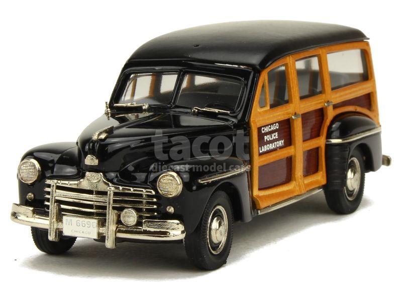 85855 Ford V8 Station Wagon Police 1948