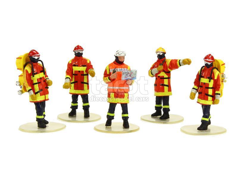 86248 Divers Figurines Sécurité Civile