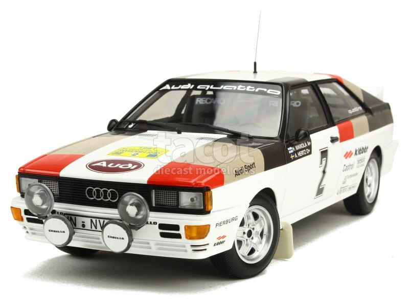 86847 Audi Quattro Swedish Rally 1981