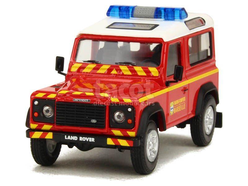 86856 Land Rover Defender Court Pompier