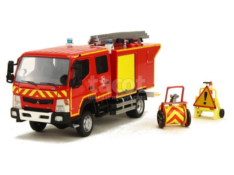87561 Mitsubishi Fuso CCRL Canter Gallin Pompier