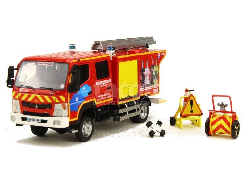 87562 Mitsubishi Fuso CCRL Canter Gallin Pompier