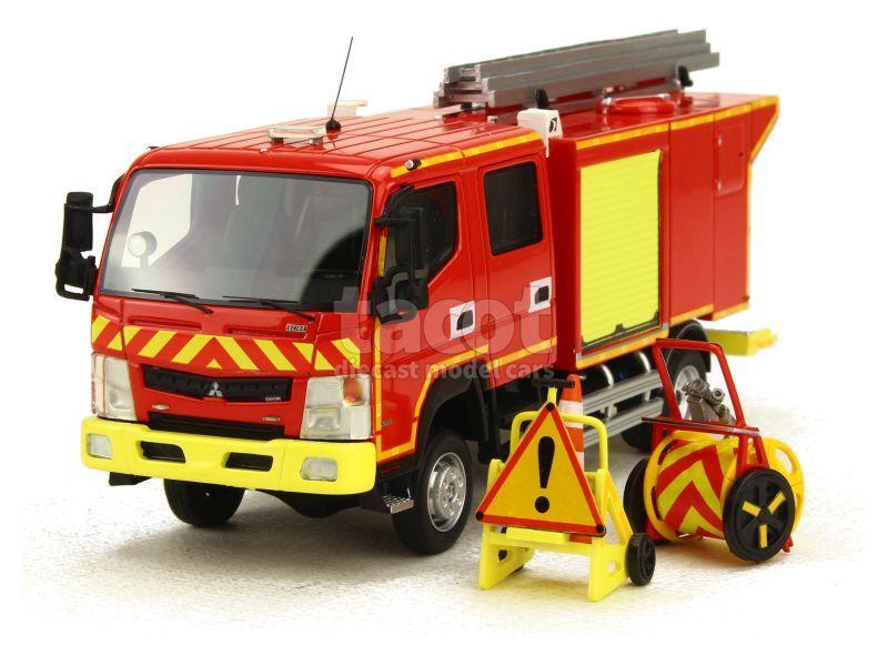 87647 Mitsubishi Fuso CCRL Canter Gallin Pompier