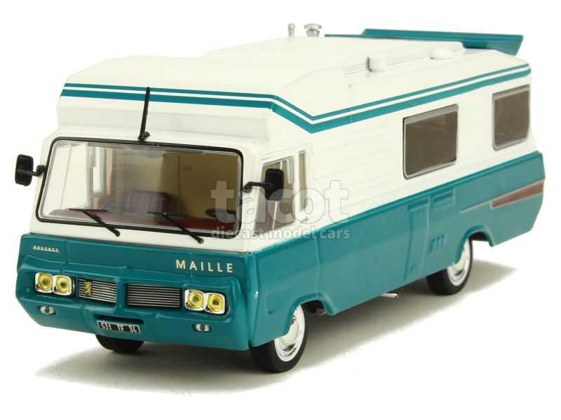 87822 Peugeot Maillet Eric 3 Camping Car 1977