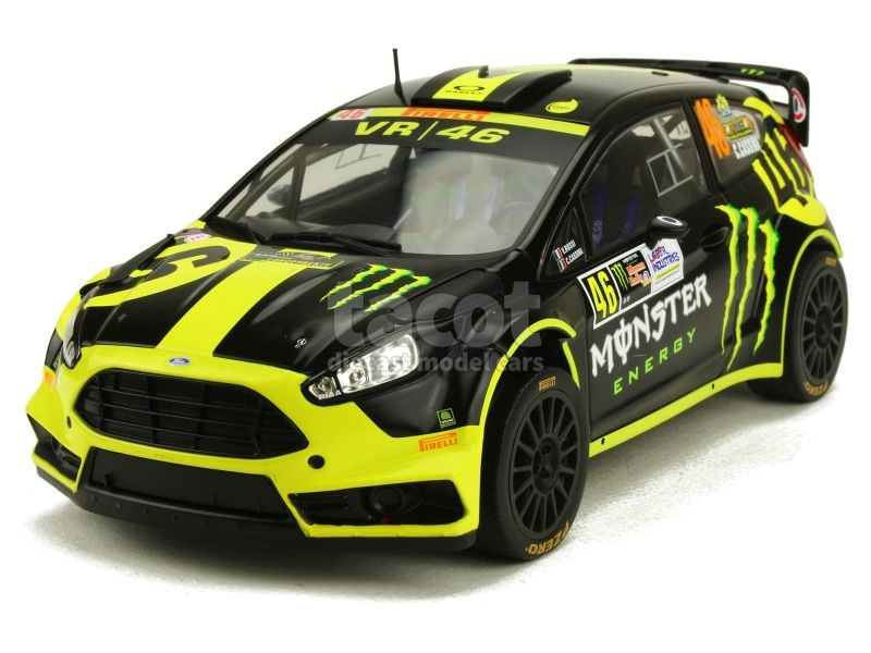 87969 Ford Fiesta RS WRC Monza Rally 2014
