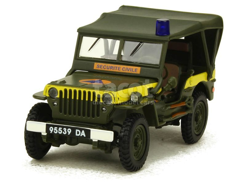 88149 Willys Jeep 1/4 Ton Military