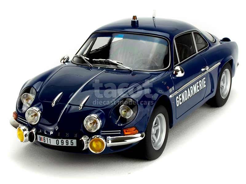 89091 Alpine A110 1600S Gendarmerie 1971