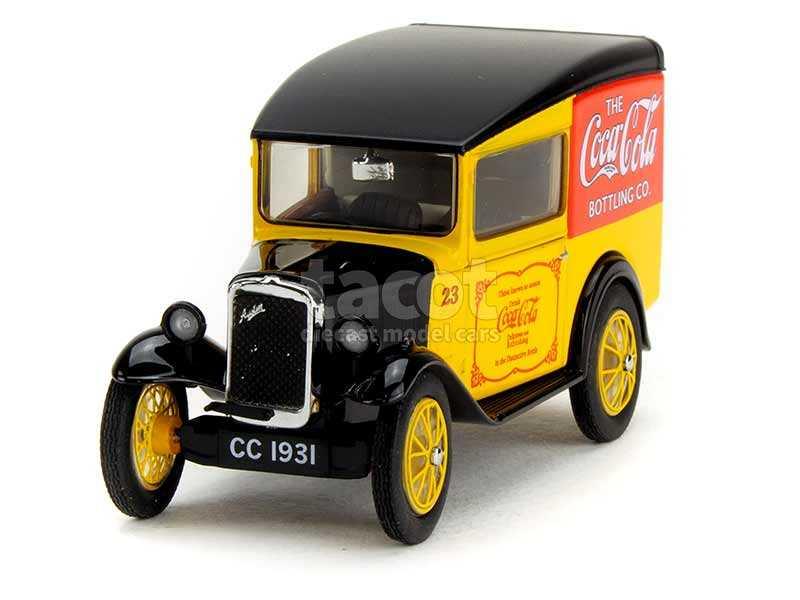 89293 Austin Seven Van Coca Cola
