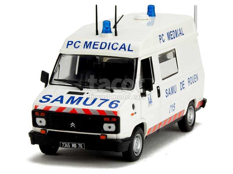 89504 Citroën C25 Heuliez Ambulance 1984