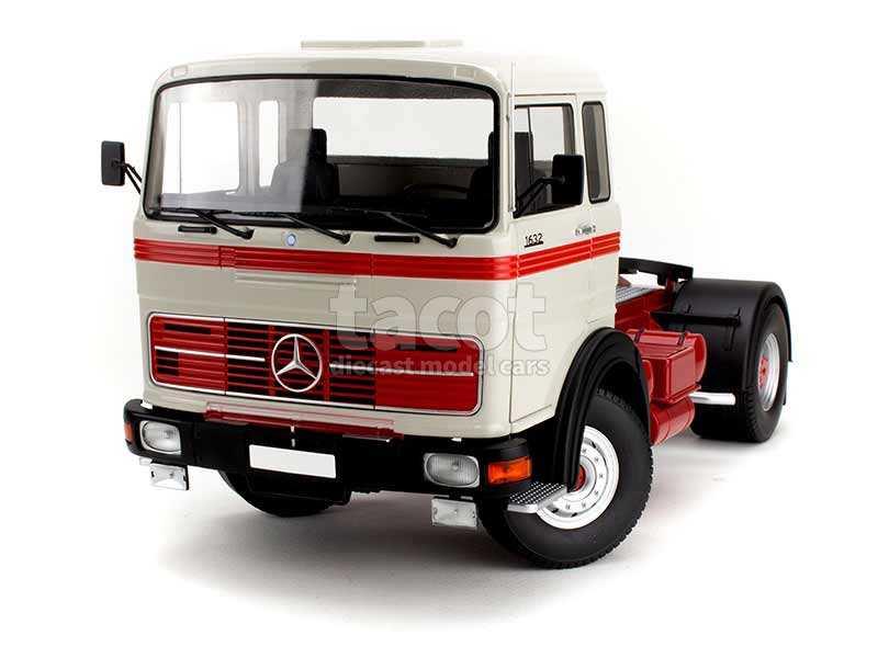 89654 Mercedes LPS 1632 Tracteur 1969