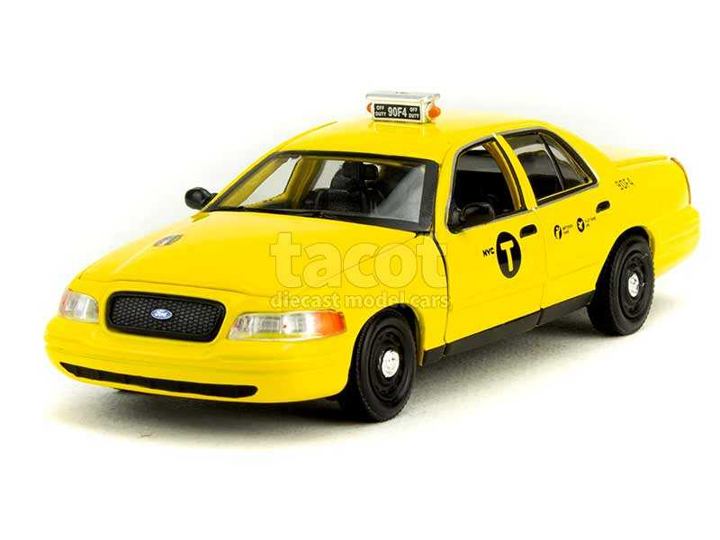 90638 Ford Crown Victoria Taxi 2008