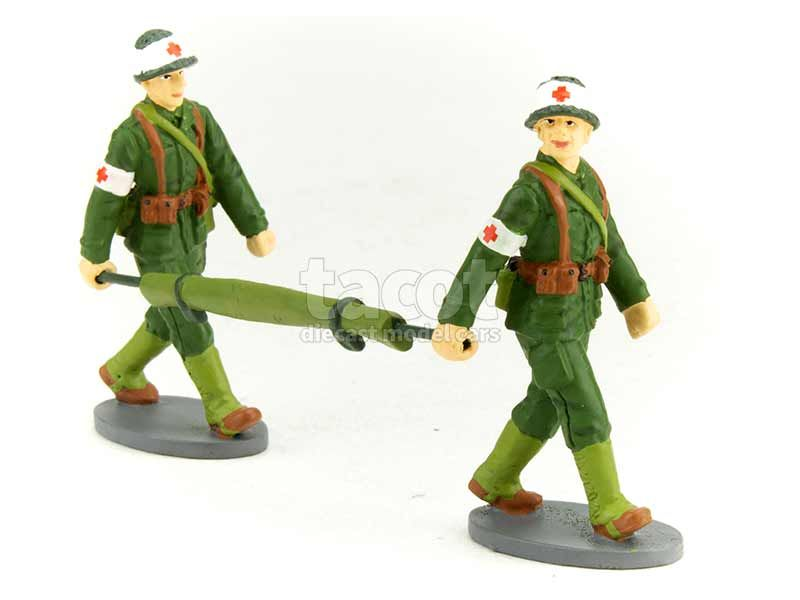 90752 Divers 2 Figurines Soldat