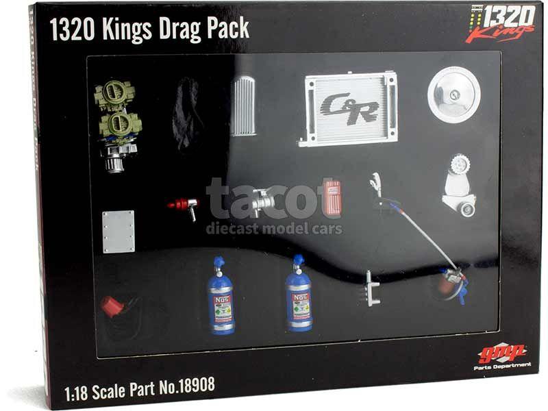 90850 Divers 1320 Kings Drag Pack