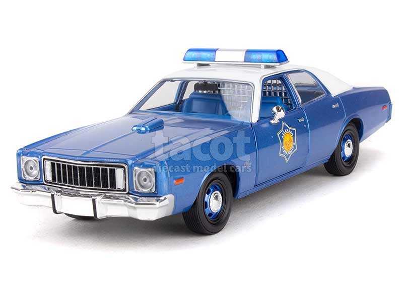 93550 Plymouth Fury Arkansas State Police 1975