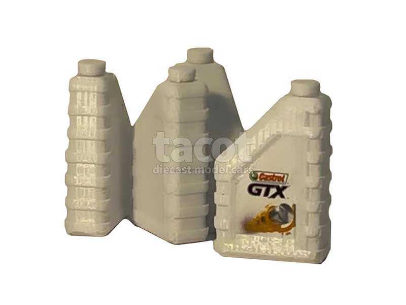 94946 Divers Bidon d'Huile 2L Castrol GTX X4