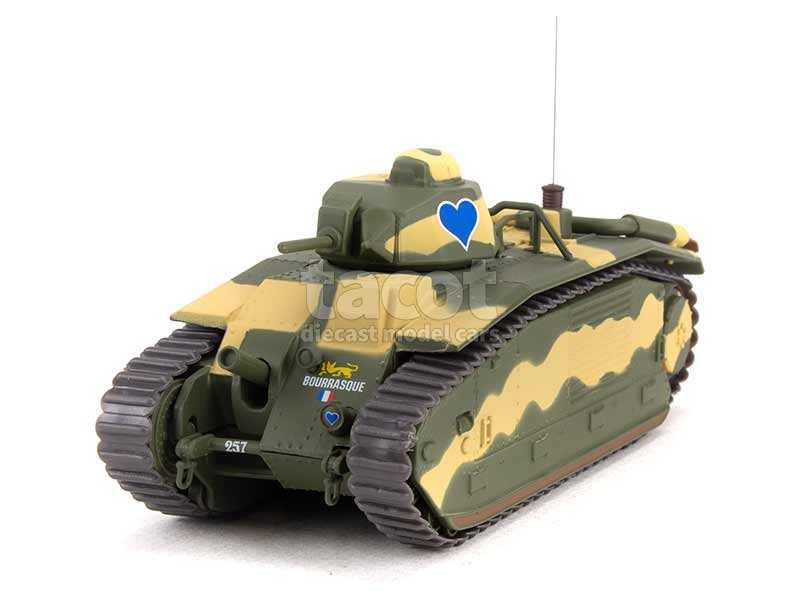 96085 Tank Renault B1 Bis 1940