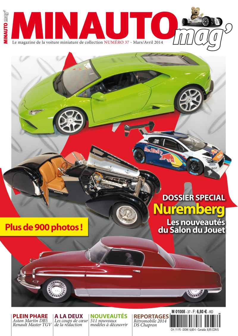 44 MINAUTO mag' No37 Mars / Avril 2014