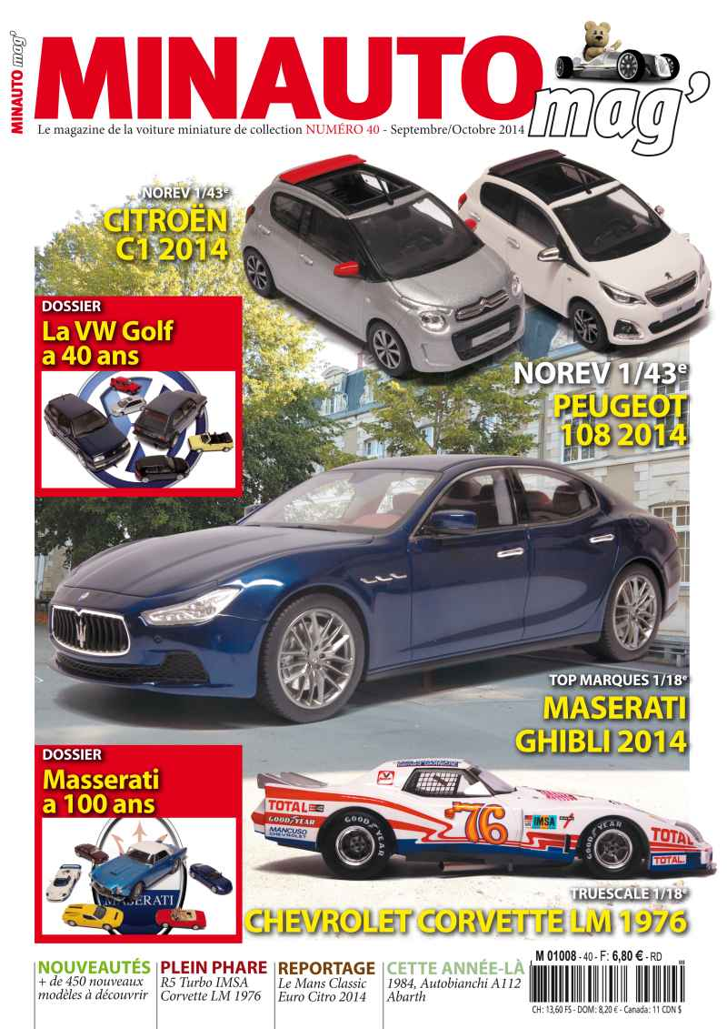 47 Divers MINAUTO mag' No40 Septembre / Octobre 2014
