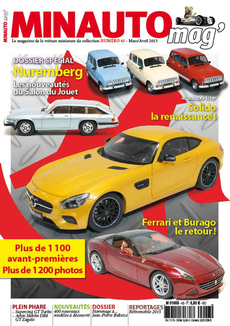 50 MINAUTO mag' No43 Mars/ Avril 2015