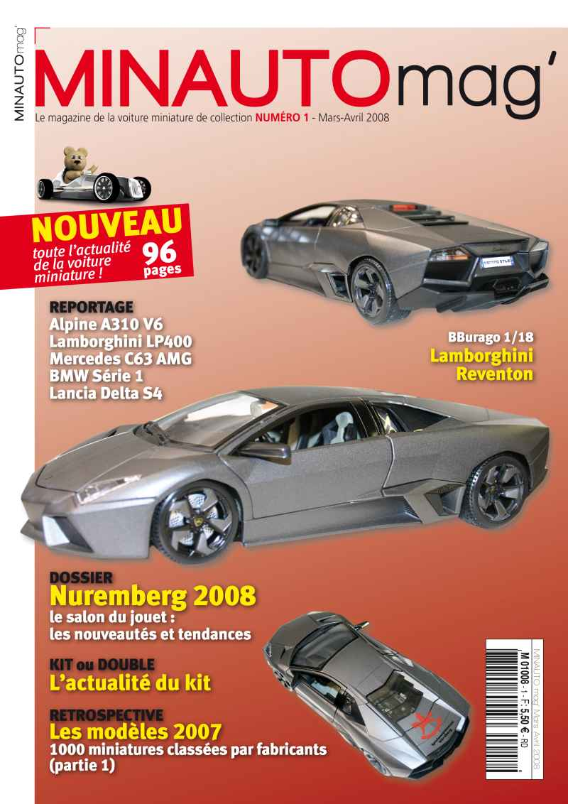 8 MINAUTO mag' No1 Mars/Avril 2008