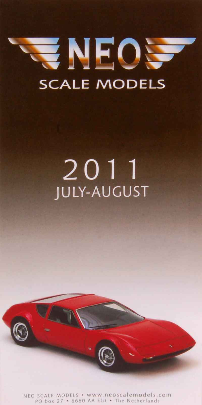 catalogue d pliant n o 2011 neo autos miniatures tacot. Black Bedroom Furniture Sets. Home Design Ideas