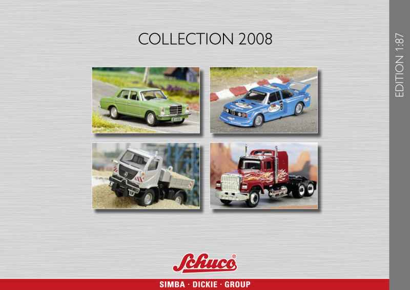 413 Catalogue Schuco 1/87 2008