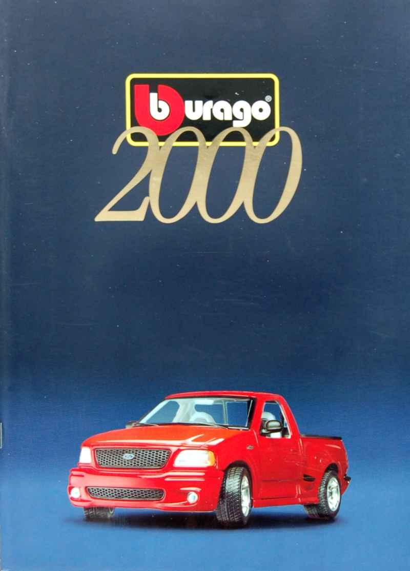 catalogue burago 2000 burago autos miniatures tacot. Black Bedroom Furniture Sets. Home Design Ideas