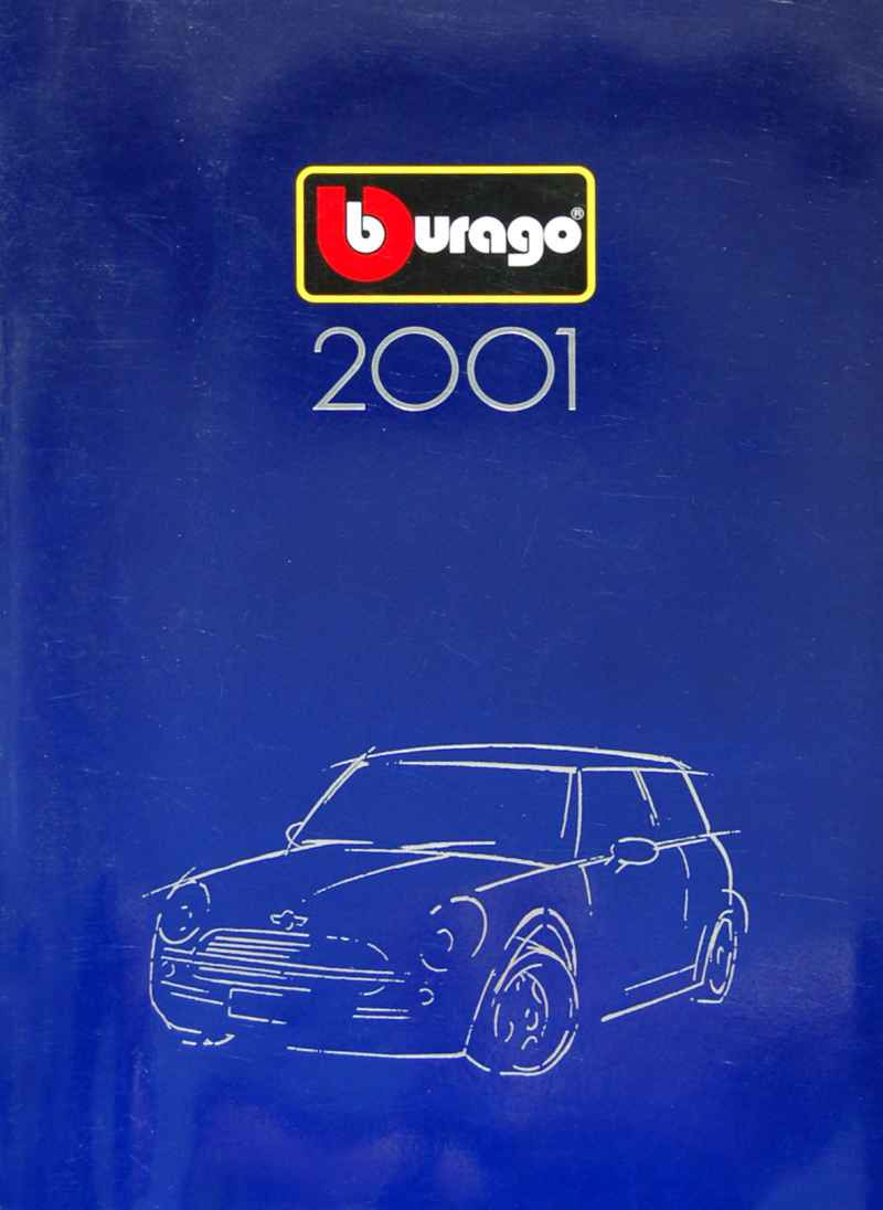 429 Catalogue Burago 2001