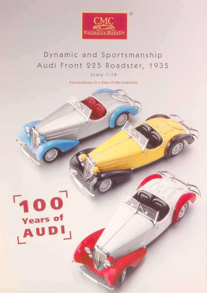 500 Catalogue CMC 100 Years Audi