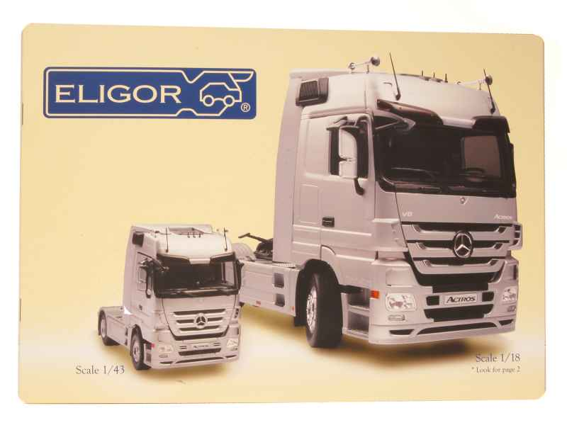 536 Divers Catalogue Eligor 2011 Camion