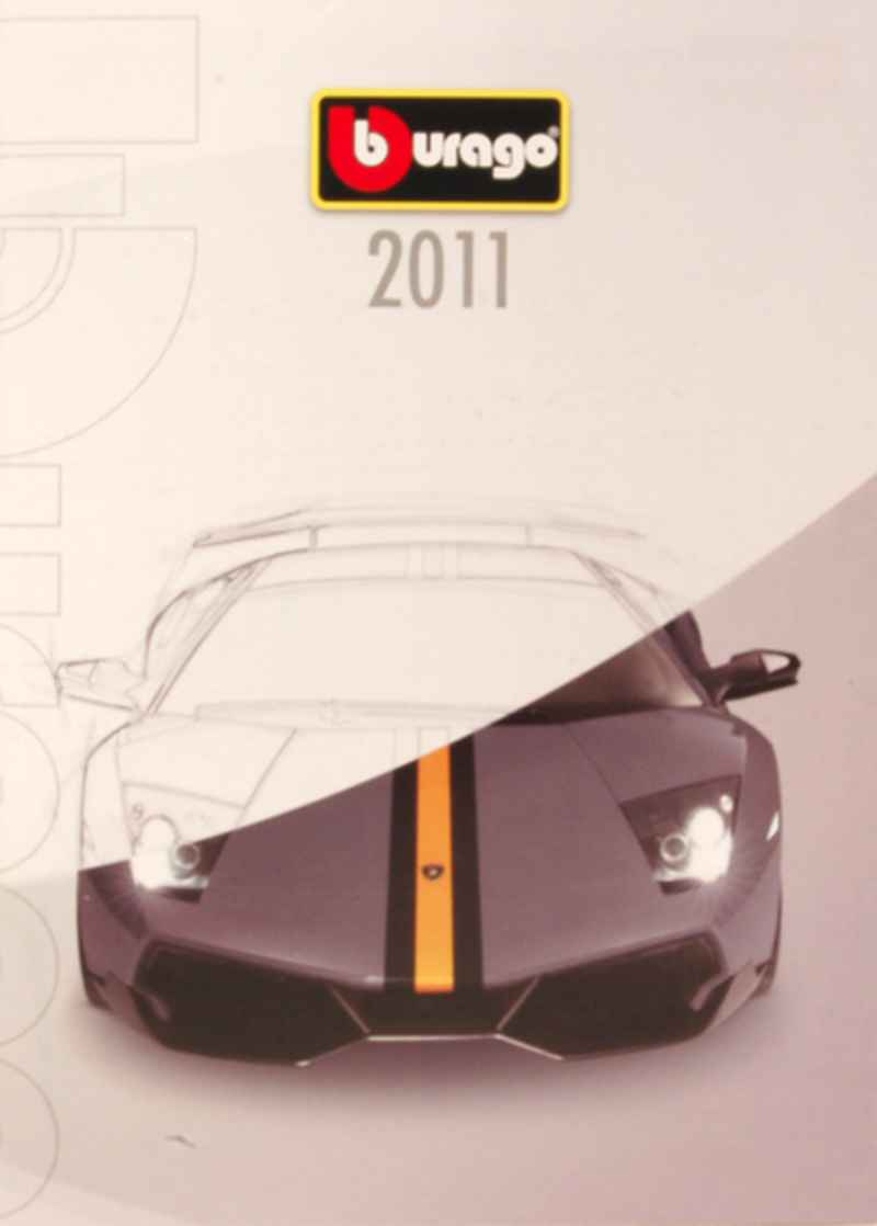 611 Catalogue Burago 2011