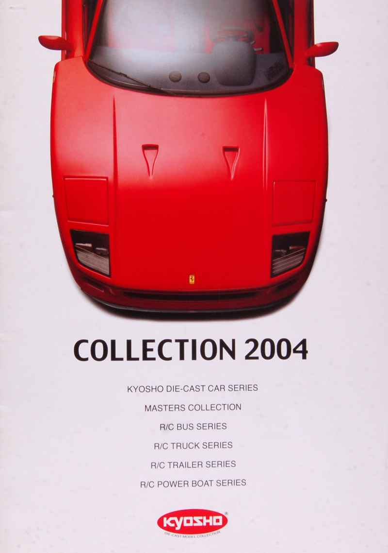 659 Divers Catalogue Kyosho 2004