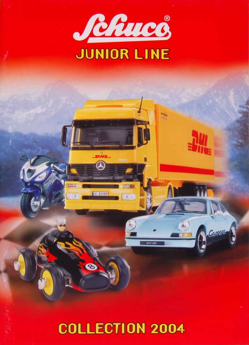 702 Catalogue Schuco Junior Line 2004