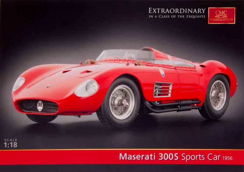 733 Divers Catalogue CMC Maserati 300S