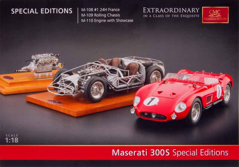 743 Catalogue CMC Maserati 300S