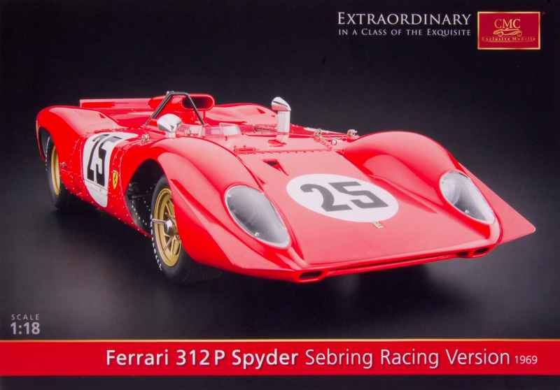 758 Catalogue CMC 312P Spyder Sebring 1969