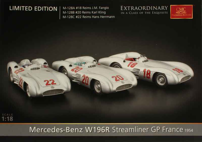 784 Catalogue CMC Mercedes W196R