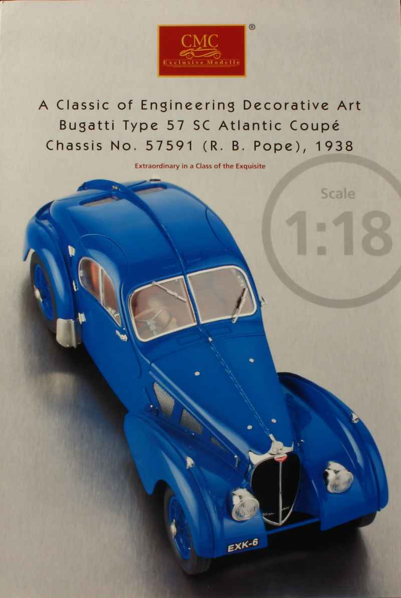 791 Divers Catalogue CMC Bugatti 57 SC Atlantic