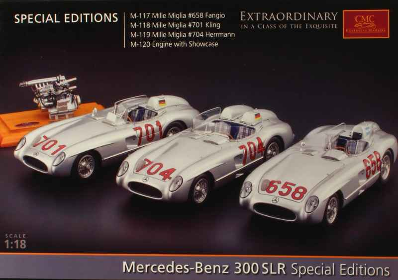 794 Divers Cat. CMC Mercedes 300 SLR S.Edition