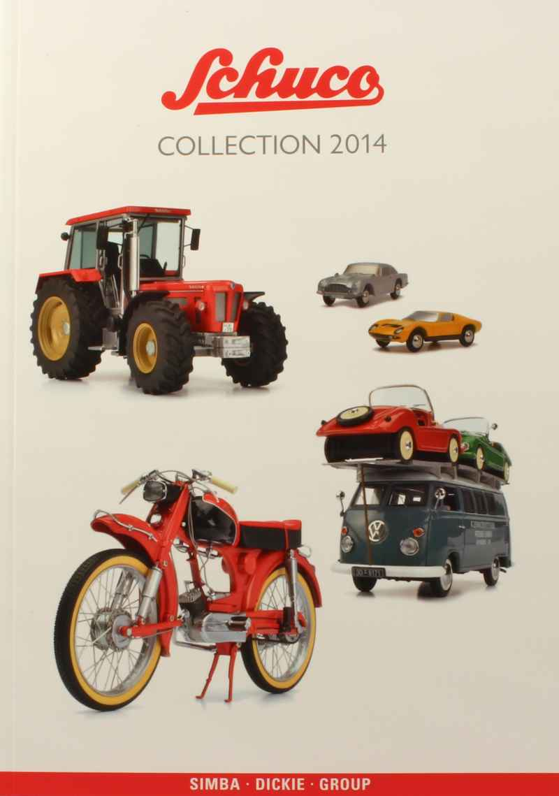 796 Divers Catalogue Schuco Collection 2014