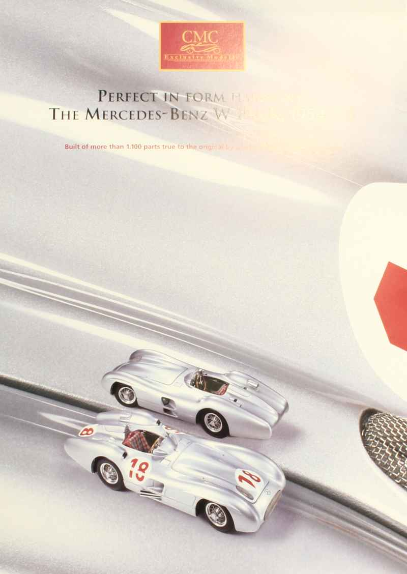 825 Catalogue CMC Mercedes W196R