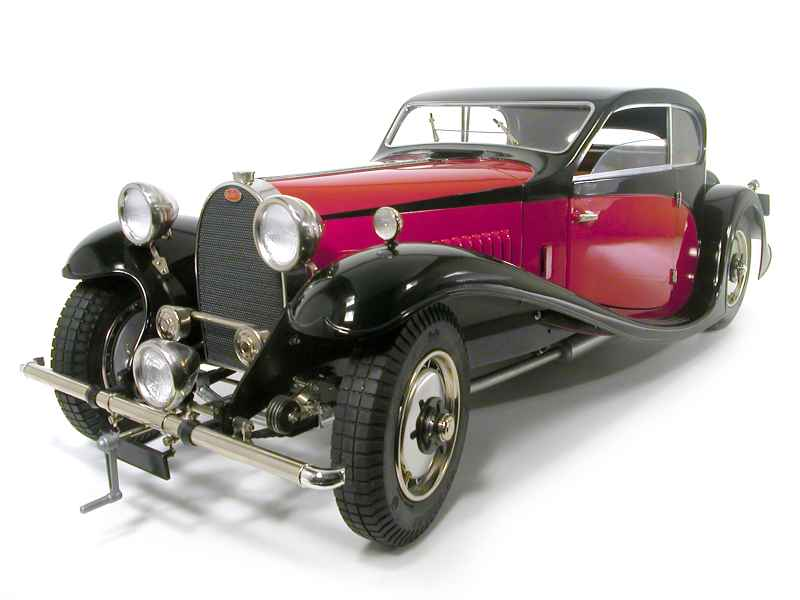 bugatti - type 50 1933 - pocher - 1/8 - autos miniatures tacot