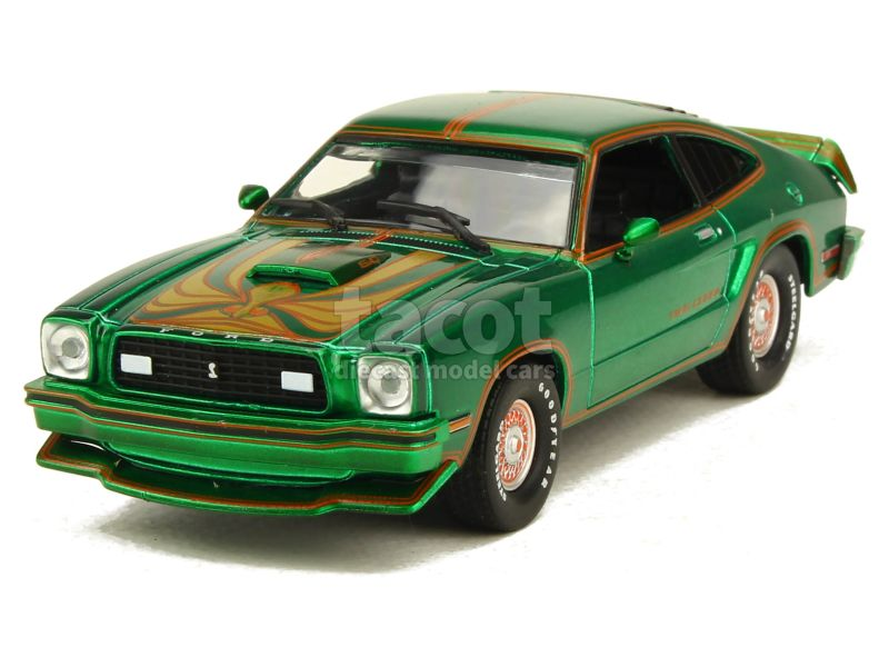 3065 Ford Mustang II King Cobra 1978 GREEN MACHINE