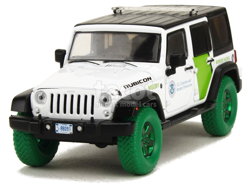 6268 Jeep Wrangler Unlimited 2015 GREEN MACHINE